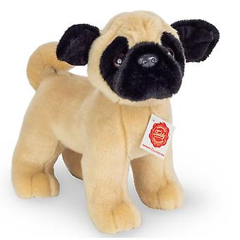Hermann Teddy Mops hond 21  cm