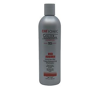 CHI Ionic Color Enhancing Shampoo PH 5.5 Red Auburn 12 OZ