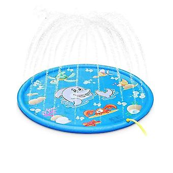 Exclusive Inflatable Water Spray Pad Play Pool Playing Sprinkler Mat