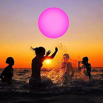 Swimming Pool Toy, Glowing Ball, Inflatable Led Beach Water Play Equipment,