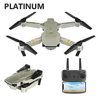 2021 Uusi e58 quadrotor taitettava drone kannettava drone sarja 720p / 1080p / 4k hd ilmakuvaus rc drone seuranta ammunta