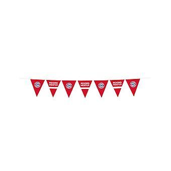 Guirlande fanions en plastique FC Bayern Munich 4m