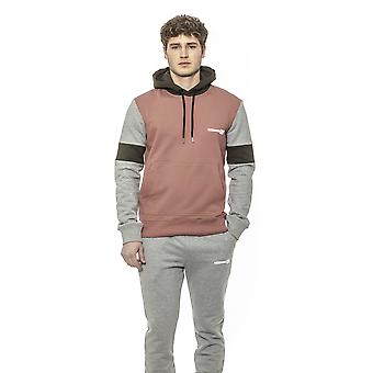 Les Hommes Pink- Grey- Olive Sweater - LE1395270
