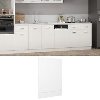 vidaXL dishwasher hood White 45x3x67 cm chipboard