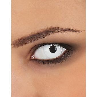 Fancy witte ooglenzen voor eenmalig gebruik voor volwassenen