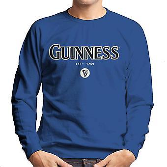 Guinness Ireland Slogan Men's Sweatshirt