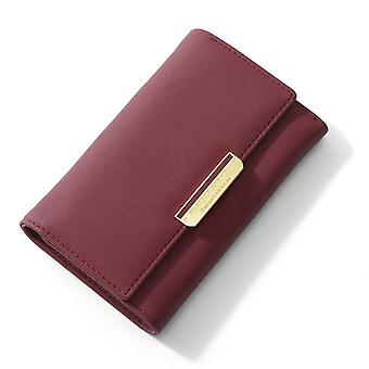 Standard Wallet, Many Departments Card Holder Ladies Purses