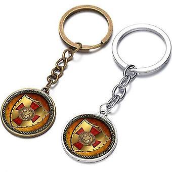 Ritarit templar punainen risti panssari vapaamuurari avainnippu