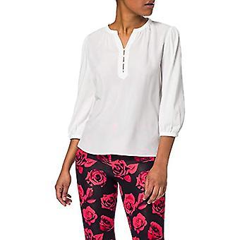 ESPRIT 011EE1K345 T-Shirt, 110/weiß aus, XXS Damen