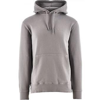 Edwin Frost Grey Katakana Hooded Sweatshirt