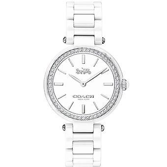 Coach Women's Park White Dial Watch - 14503450