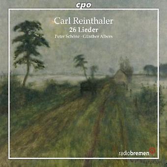 Reinthaler/Schoene/Albers - Lieder [CD] USA import