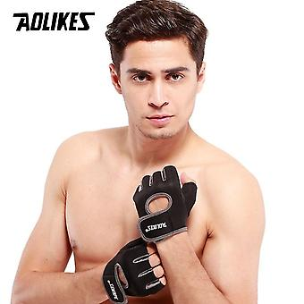 Fitness Half Finger Weight Lifting Breathable Training Gloves