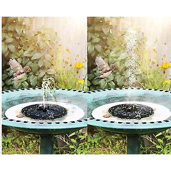 Solar powered fountain pump upgraded 4-in-1 nozzle dt4484