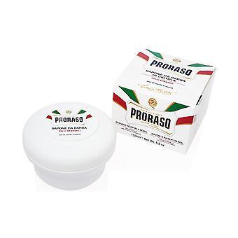 Proraso Parranajo saippua kulhossa, herkkä iho, 150ml