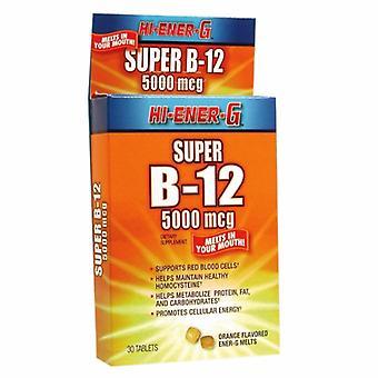 Windmill Health Vitamin B12 Hi Ener G Super, 30 Tabs