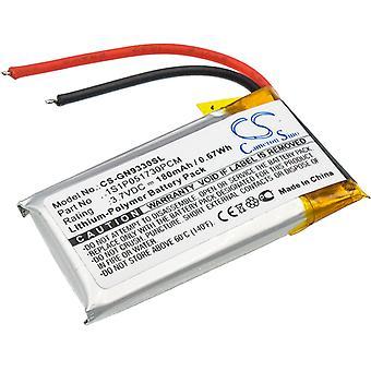 Headset Battery for GN 1S1P051730PCM GN9330 Netcom 9330 CS-GN9330SL 3.7V 180mAh