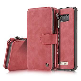 Samsung s8 lompakko puhelimen kotelo
