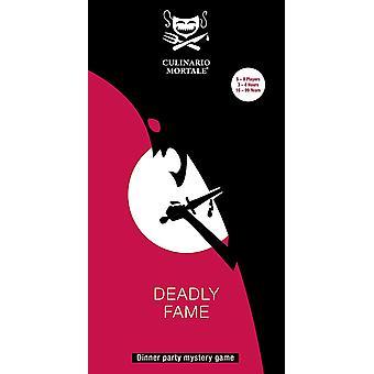 Culinario Mortale: Deadly Fame Card Game