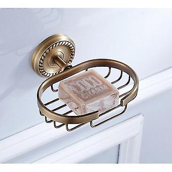 Massiivi messinki kylpyhuone tarvikkeet kori wc paperi baari teline | kylpyhuone tarvikkeet