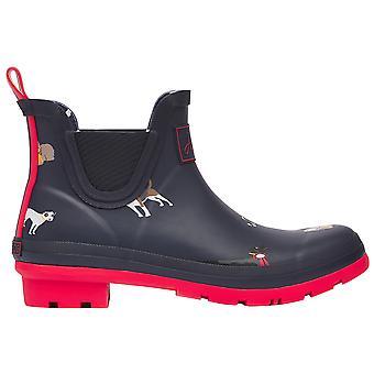 Joules Kvinders Wellibob Kort højde Rubber Wellington Boots