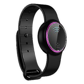 Ultrasonic mosquito repellent bracelet, outdoor waterproof electronic mosquito repellent watch(Black