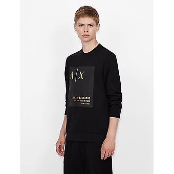 Armani Exchange Armani Exchange Felpa Mens Sweatshirt 6KZMDB ZJ6PZ