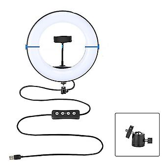Led Video Ring Light With Tripod Stand Phone Holder