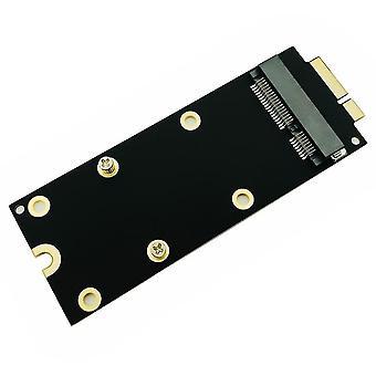 Msata Ssd To Sata 7+17 Pin Adapter Card 2012 For Macbook Pro Mc976 A1425 A1398
