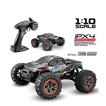 Jouets 1:10 RC Camions 46km/h Dual Motor Highl Climbing Off Road Voiture étanche| Camions RC (rouge)