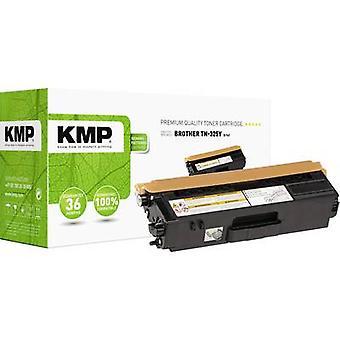 Cartucho de tóner KMP reemplazó a Brother TN-325Y, TN325Y Compatible Yellow 3500 Sides B-T41