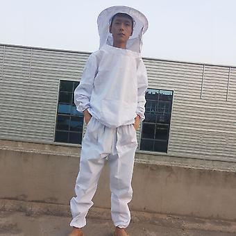 Comfortabele lichaam beschermende bijenteelt pak set ademende verdedigen bijenkleding