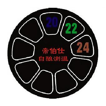 10pcs automatisk hjemmebrygging pinne på termometer