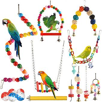 Papagáj vtáčie hračky 15 balení