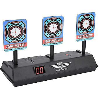 Ziel für Nerf Electric Target Spielzeug Intelligentes Licht Spielzeug Sound Effect Scoring Target