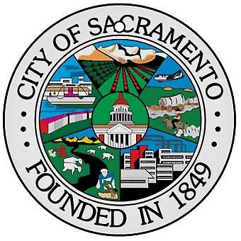 Sacramento stad Seal auto luchtverfrisser
