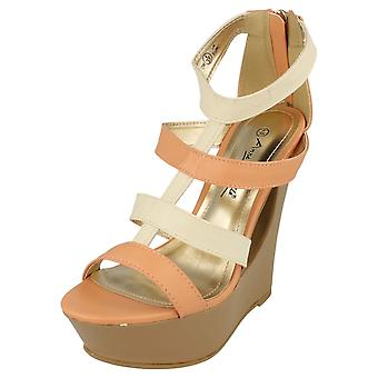 Ladies Anne Michelle Wedge Sandals L3394