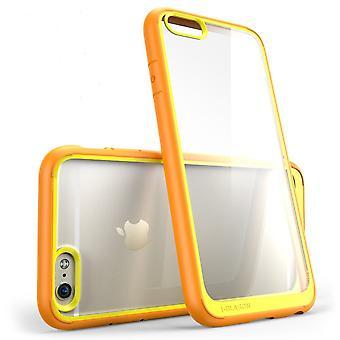 """i-Blason Apple iPhone 6 / 6S 4,7"""" caso - série Halo - laranja claro"""