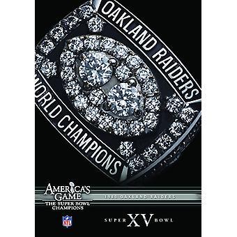 NFL America's Game: 1980 Raiders (Super Bowl Xv) [DVD] USA import
