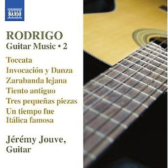 J. Rodrigo - Rodrigo: Guitar Music, Vol. 2 [CD] USA import