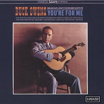 Buck Owens - You're for Me [CD] USA import