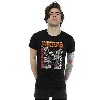Pantera Men's 3 Albums T-Shirt