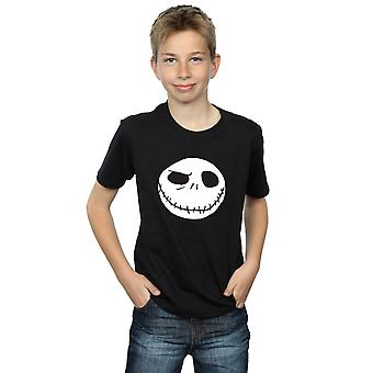 Disney Boys Nightmare Before Christmas Jack's Big Face T-Shirt