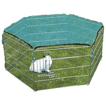 Trixie Enclosure Galvanized mesh 6 panels with grid 60x63cm