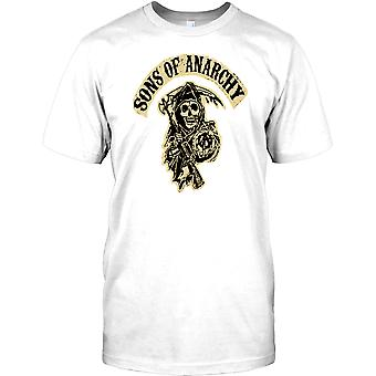 Sons Of Anarchy Liemannen Grunge - Biker Mens T Shirt