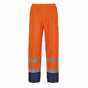 Portwest - Hi-Vis Safety Workwear Classic Contrast Waterproof Rain Trouser