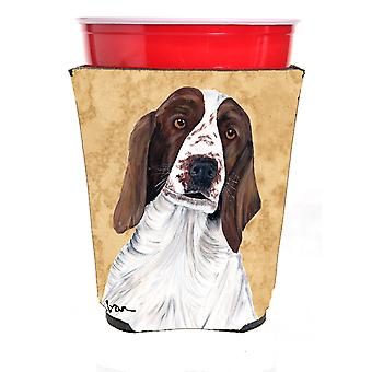 Carolines schatten SC9131RSC Springer Spaniel rood Solo Cup drank isolator