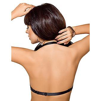 Gorsenia K371 Women's Rosalia Black Padded Underwired Multiway Convertible Strapless Bra