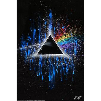 Dark Side of the Moon by Fishwick Poster Poster Print