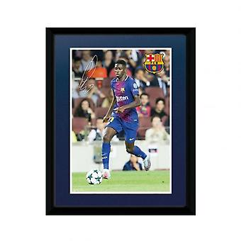 Barcelona Picture Dembele 8 x 6